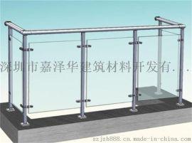 河北石家庄玻璃护栏厂家,锌钢玻璃护栏,玻璃护栏