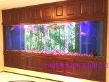 无锡鱼缸工厂定制大型墙内鱼缸 镶嵌式水族箱