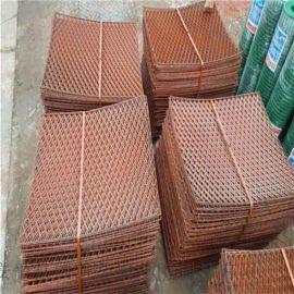 施工防护铁丝网销售 菱型拉伸钢笆网
