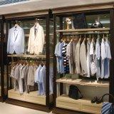 服裝店裝修廠家直銷 復古簡約服裝衣服展示架 靠牆精品展示櫃組合