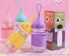 厂家礼品创意杯便携水杯创意企鹅杯可爱小艾杯随手杯带盖