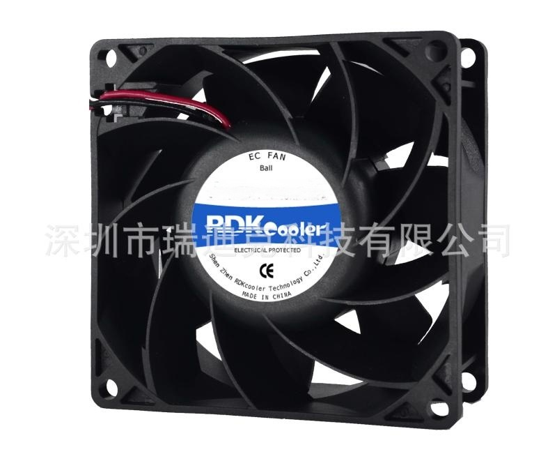 EC8038增壓散熱風扇 印表機風扇 伺服器風機