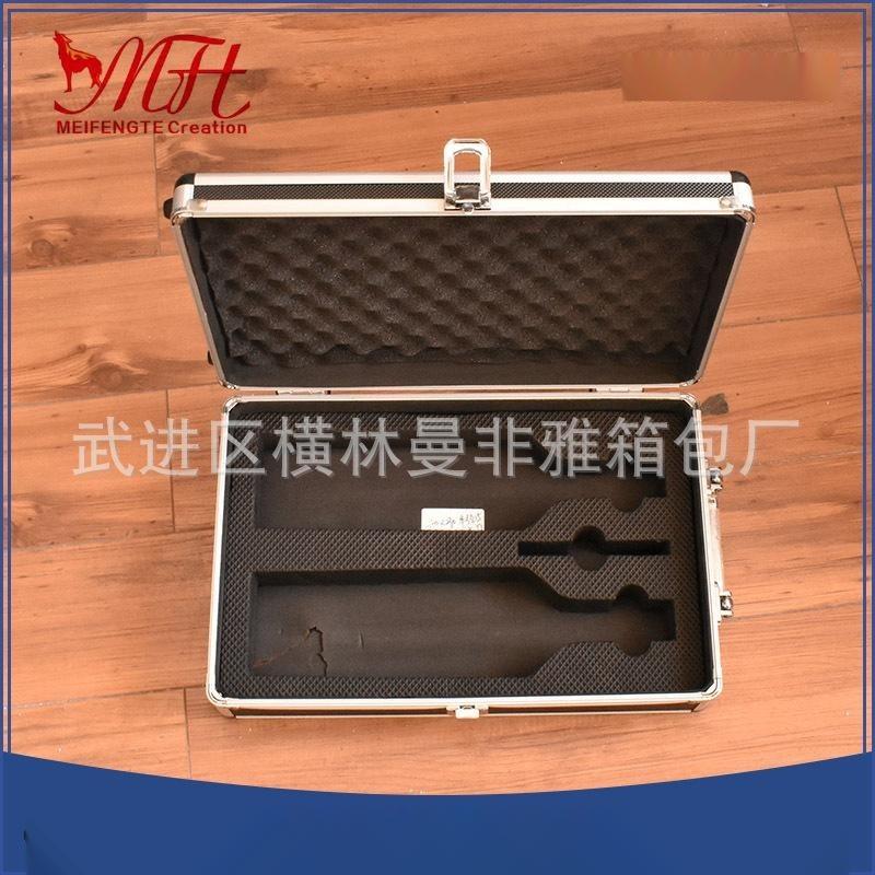 定制铝合金密码锁铝箱 各种规格设备箱 展示仪器箱