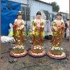 西方三圣佛像定制 阿弥陀佛 观世音菩萨 大势至佛像