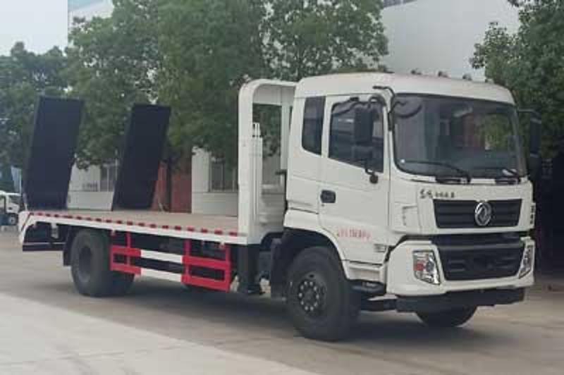 平板运输拖车|厂家生产供应挖掘机用平板运输车