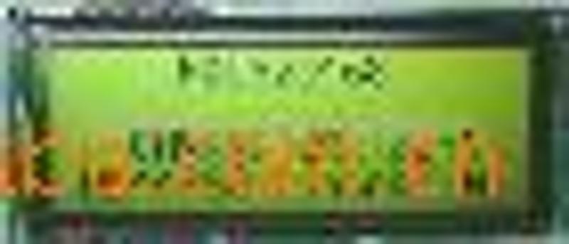 供应液晶显示模块 黄绿液晶