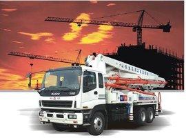 混凝土臂架输送泵车 (HDT系列)