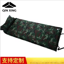 长期供应 高回弹性充气垫 迷彩单人自动充气垫 防潮睡垫系列