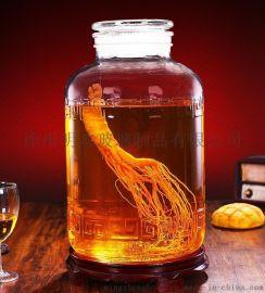 泡酒坛子,玻璃泡酒器皿,泡酒瓶,自酿泡酒瓶子包装,泡酒玻璃缸