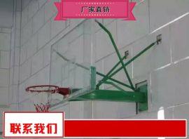 钢化玻璃篮板篮球架经销 公园篮球架特价
