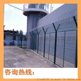 浸塑防爬监狱防护网 防护加高监狱钢网墙