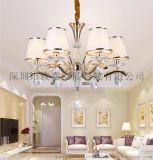 致赢批发LED水晶灯正白暖白6-8-LED水晶灯10个头