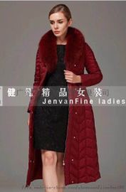 东北折扣女装市场|**羽绒服尾货|品牌库存服装批发