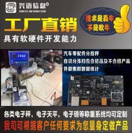 上海电子控制配料给料称重电子秤,150公斤全自动定量检重放料防水秤,200kg饲料配料自动传送检重电子台秤