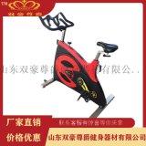 雙豪尊爵商用健身器材直立式商用金剛動感單車廠家直銷