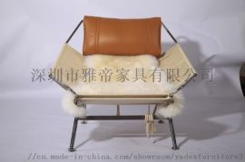 现代躺椅(PP225 Flag Halyard Chair)