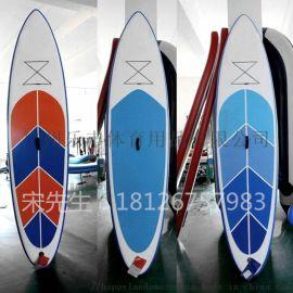 最新设计充气冲浪板 水上游戏用品