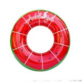 PVC加厚创意西瓜游泳圈充气游泳圈成人游泳圈