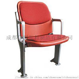 成都亿洲体育场馆看台座椅中空吹塑塑料椅子