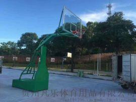 贵阳篮球架适用于室内外篮球场