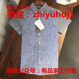 原單尾貨暇步士男裝襯衫一件代發貨