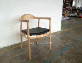 实木公牛椅子,深圳实木餐椅加工厂,**餐厅椅子