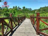 貴陽防腐木棧道廠,溼地公園木棧道過道定製