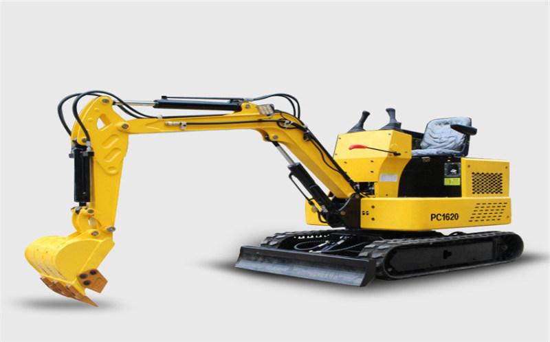新型先导15型履带式挖掘机厂家 果园用小微型挖掘机