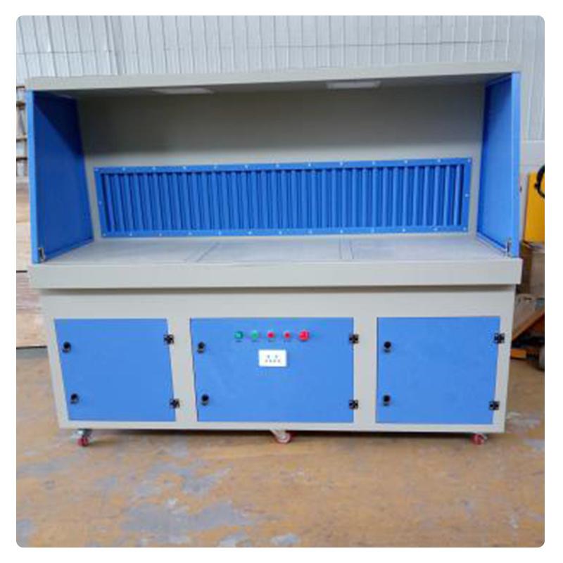工业打磨抛光除尘工作台、定做吸尘焊接环保设备