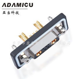 防水混合大电流**焊线式D-SUB(7W2)连接器