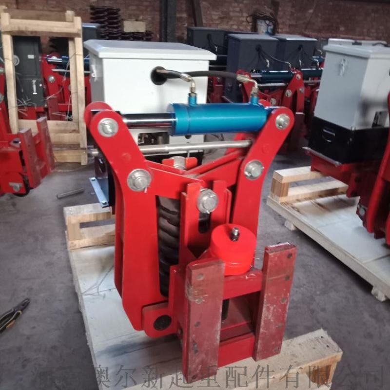 龙门吊弹簧液压夹轨器  50钢轨液压夹轨器