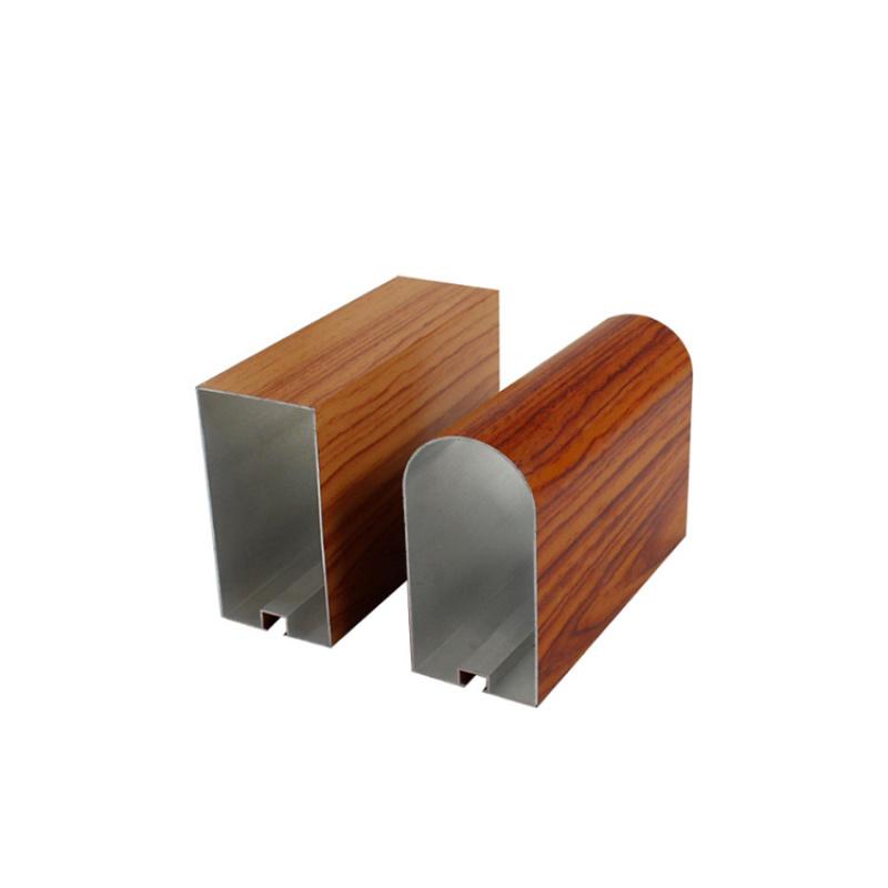 木紋U型鋁方通吊頂天花廠家直銷鋁方通定製