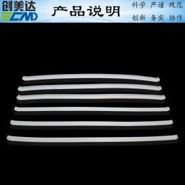 宝安一面开口形密封条状硅胶制品厂肇庆硅胶条品质优良