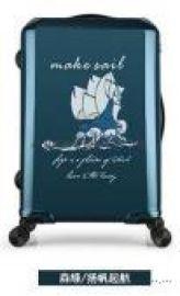 商务箱单拉杆箱定制logo防刮旅行登机箱万向轮28行李箱子