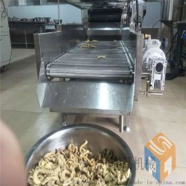 加工定制鸡米花油炸机 生产唐扬块油炸机生产线