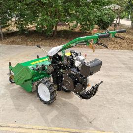 新型果园割草打草机, 自走式柴油除草机