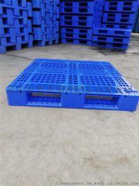 仓储垫仓板  塑料托盘厂家  网格川字叉车托盘