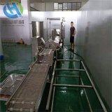 新品發佈藕夾上漿機  藕夾上漿油炸機生產線
