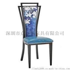 中式餐厅餐椅实木椅子小吃料理店餐椅欧式经典餐椅定做
