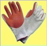 10针棉纱耐磨手套,防滑手套,胶片手套