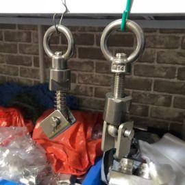 S批发供应不锈钢吊环 千斤锁紧扣 拉杆丝杆 手轮L型支撑U型支撑