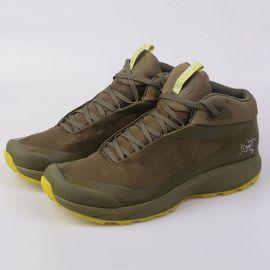 一件代发防水透气轻便户外中帮登山鞋防滑耐磨休闲徒步男鞋