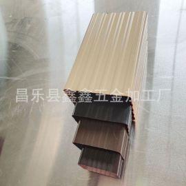 天津铝合金排水管 金哪属雨水管质量家好