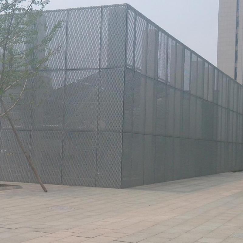 幕墙专用铝板网 装饰铝网 金属板网