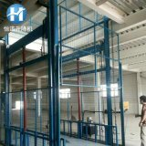SJD固定式升降臺液壓升降貨梯 車間貨物升降機導軌式升降貨梯