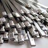 工地桥架7.9*400不锈钢扎带304抱箍船用金属自锁钢带捆绑电缆扎带