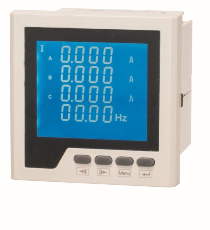 LEF818UI型三相電壓電流組合表嵌入式安裝0.5級數碼管液廠家直銷