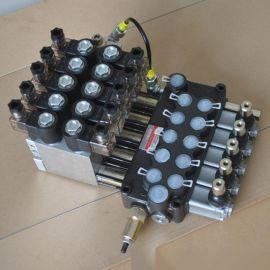 DCV40-5联电液控手动两用多路换向阀