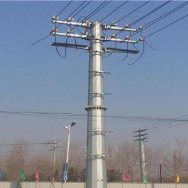 华兴 供应内蒙乌兰浩特12米10KV电力钢杆及基础——电力钢杆价格优惠