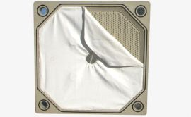 景津压滤机镶嵌式滤板滤布,嵌入式滤板滤布